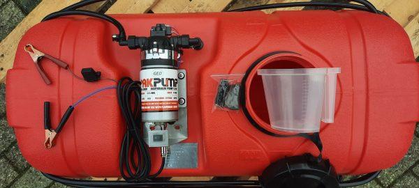Spuittank 100 liter quad